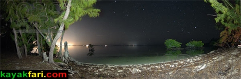 Barnes Sound under the stars Short Key
