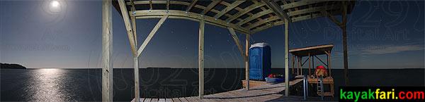 Johnson Key platform / chickee, Florida Bay