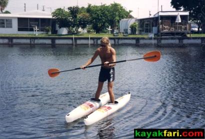 .. in these ski-kayaks