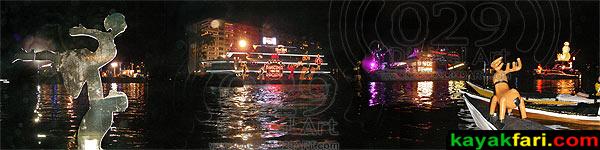 Winterfest Boat Parade in Ft Lauderdale