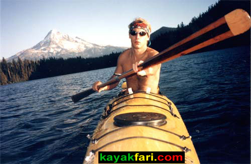 Flex Maslan kayakfari Seda Glider kayak adventure Everglades tour banana boat Florida camping photography 25 years paddling