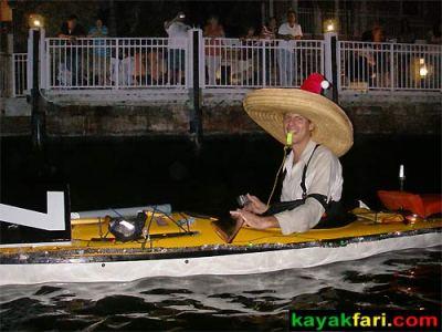 kayakfari Seminole Winterfest Boat Parade kayak lights ft lauderdale Flex Maslan photography miami paddle Holidays
