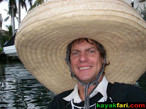 kayakfari Seminole Winterfest Boat Parade kayak