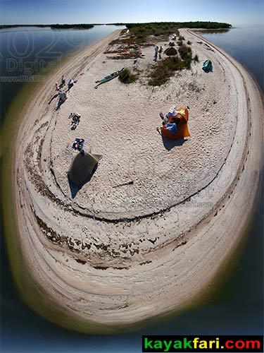 whitehorse key aerial kayakfari.com Flex Maslan kayakfari Everglades digital029art.com kayak canoe florida camping beach