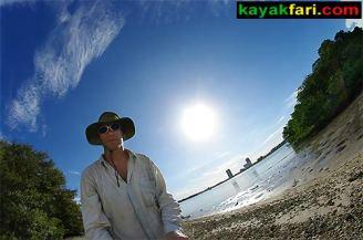 Miami Biscayne Bay Florida kayak kayakfari Flex Maslan kayakfari.com
