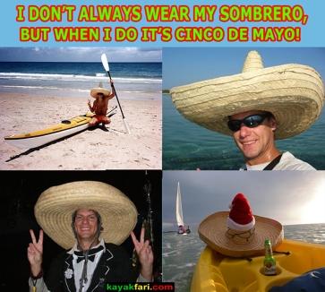 Viva las Fiestas Cinco de Mayo kayakfari kayak kayakfari.com Flex Maslan