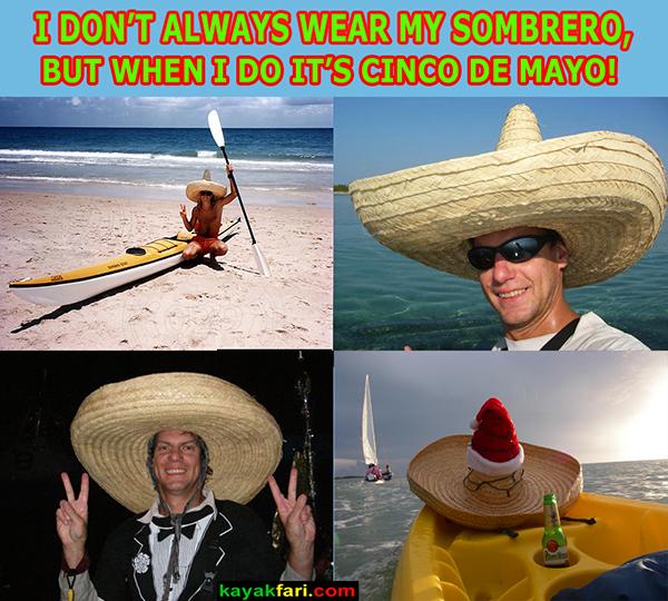 Viva las Fiestas Cinco de Mayo Flex kayakfari kayak
