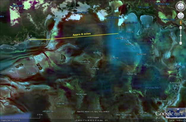 Flex Maslan Shark Point Chickee kayakfari Everglades camping platform florida bay kayak paddle mosquito keys Satellite