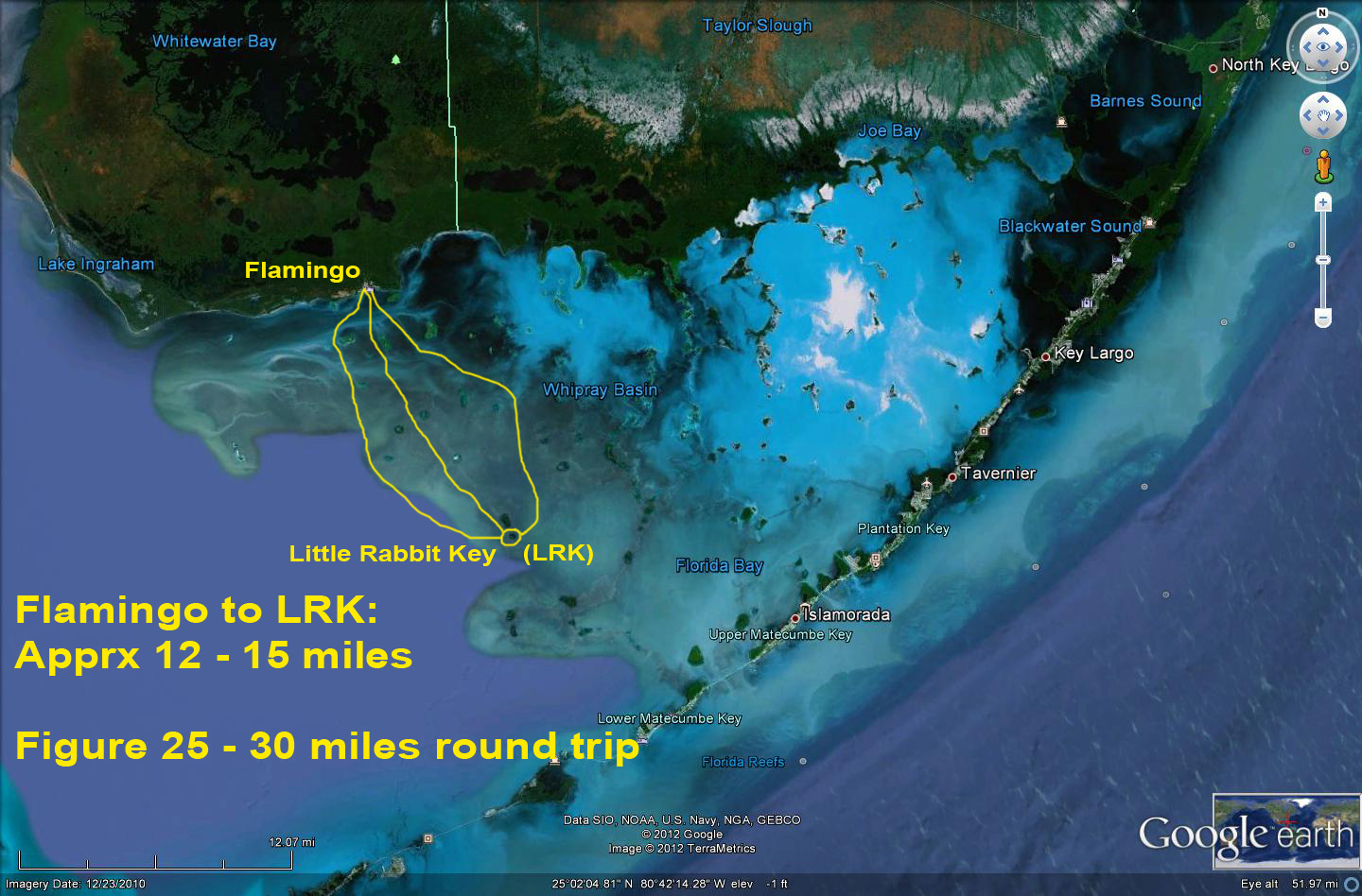 Map Of Florida Bay.Little Rabbit Key A Camping Jewel In Central Florida Bay