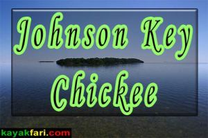 Kayaking to the Johnson Key Chickee in Florida Bay - kayakfari