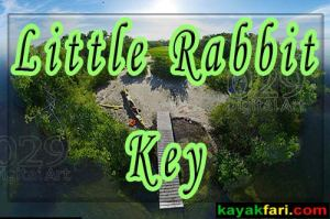 Kayaking to Little Rabbit Key in Florida Bay - kayakfari