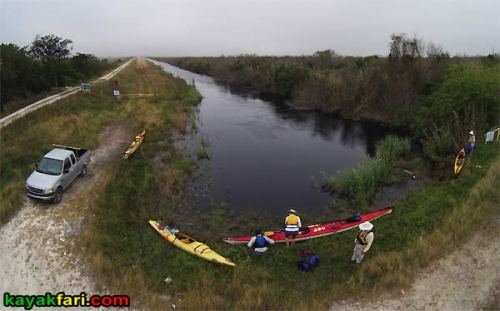 Shark River Slough Everglades expedition camping River of Grass kayakfari Flex Maslan sawgrass marshall foundation aerial L67 levee canal 67 us41 birdseye view