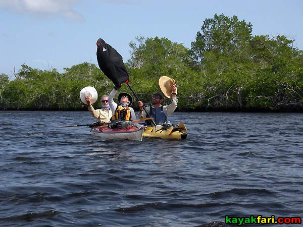 Shark River Slough Everglades expedition camping River of Grass kayakfari Flex Maslan marshall foundation kayak canoe sawgrass sailing downwind