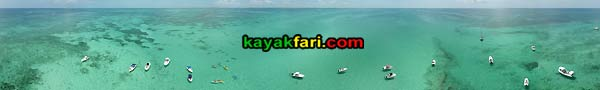 Alligator Reef Light aerial kayakfari kayak lighthouse florida keys coral pirates wreckers