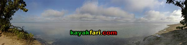 Carl Ross kayakfari Florida Bay kayak Everglades Flex Maslan island panorama