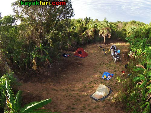 Canepatch Indian mound camping kayakfari Cane Patch aerial Flex Maslan Shark River Slough Everglades