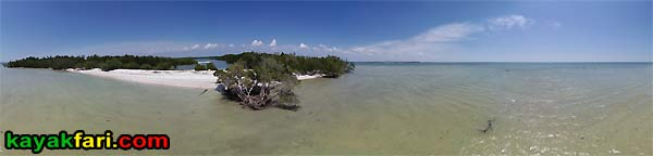 Camp LuLu kayakfari aerial everglades kayak ten thousand islands canoe beach