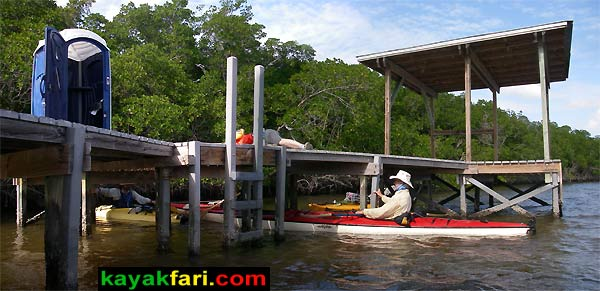 Oyster Bay kayakfari everglades chickee camp kayak canoe panoramic wilderness waterway flex maslan paddle