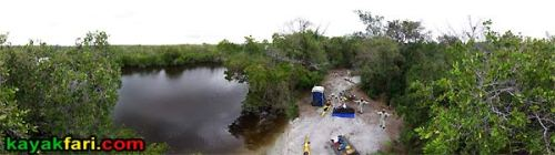 Darwin's Place kayakfari Everglades Camp aerial kayak Flex Maslan canoe Darwin wilderness waterway