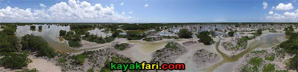 Gopher Creek Charley kayakfari aerial everglades rookery bay mud flex maslan mangrove birds