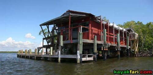 huston bay house everglades kayakfari cabin kayak private flex maslan