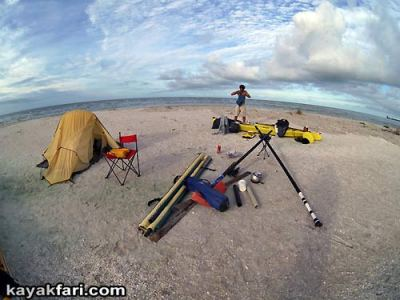 Kayak Aerial kayakfari photography pole everglades birds eye flex maslan canoe