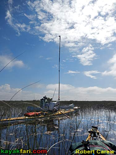 Kayak Aerial kayakfari photography pole dslr everglades birds eye flex maslan canoe