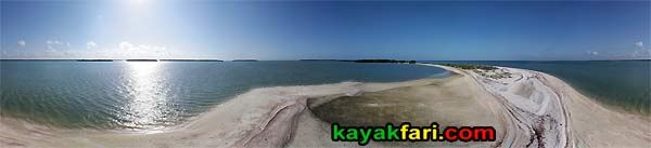 Pavillion Key kayakfari aerial camp everglades kayak ten thousand islands gulf canoe beach 10000 hell panorama