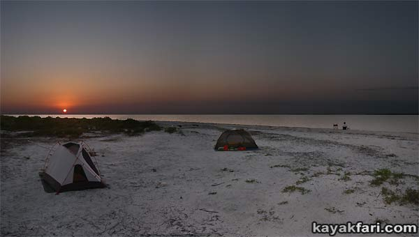 Pavillion Key kayakfari camp everglades kayak ten thousand islands gulf canoe beach 10000 hell panorama