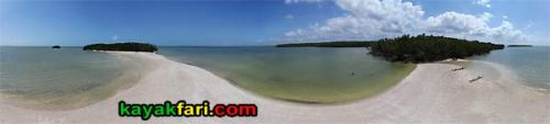 Rabbit Key kayakfari aerial everglades kayak ten thousand islands beach flex maslan canoe gulf camp