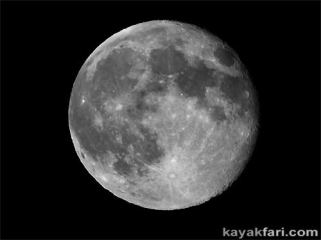 full moon kayakfari fever kayak Rabbit in the Moon breaks