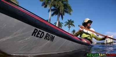 Florida pompano kayak redrum kayakfari Flex Maslan kayakfari.com