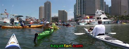 kayakfari.com RedBull Flugtag Miami kayak downtown biscayne bay flex maslan florida panoramic paddle