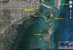 Flex Maslan kayakfari.com RedBull Flugtag Miami kayak satellite downtown biscayne bay florida panoramic paddle