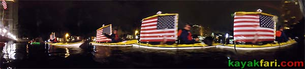 tribute 911 heroes paddle kayakfari allamericankayak ft lauderdale Flex Maslan kayak rememberance