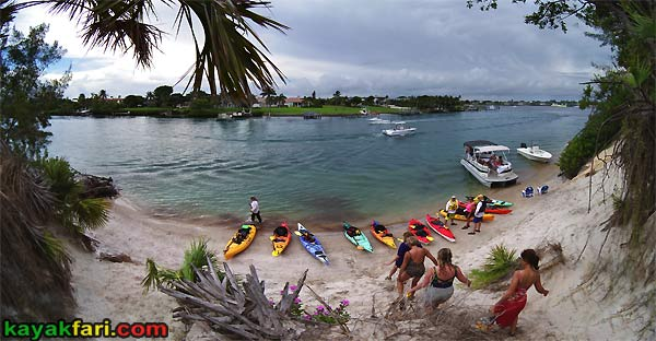 kayak jupiter inlet red lighthouse paddle panoramic kayakfari florida Flex Maslan