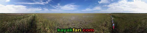 East Everglades Grass kayakfari canoe paddle Expansion Area airboat aerial camp addition lands kayak Flex Maslan