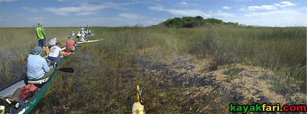East Everglades Grass kayakfari canoe paddle Expansion Area airboat camp addition lands kayak Flex Maslan