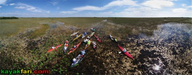 East Everglades Grass kayakfari aerial canoe paddle Expansion Area airboat camp addition lands kayak Flex Maslan