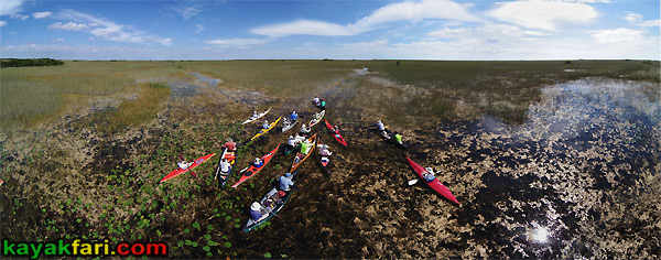 East Everglades Grass kayakfari aerial canoe paddle Expansion Area airboat camp addition lands kayak Flex Maslan