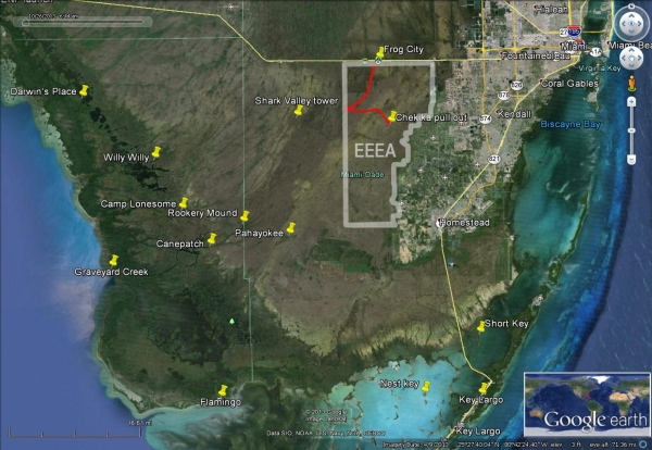 East Everglades Grass kayakfari canoe paddle Expansion Area airboat satellite camp addition lands kayak Flex Maslan