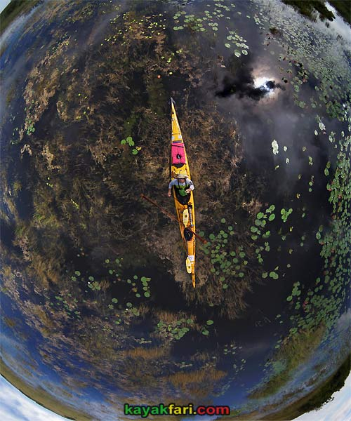 Kayak Aerial kayakfari photography pole dslr everglades birdseye canoe East kayak Flex Maslan