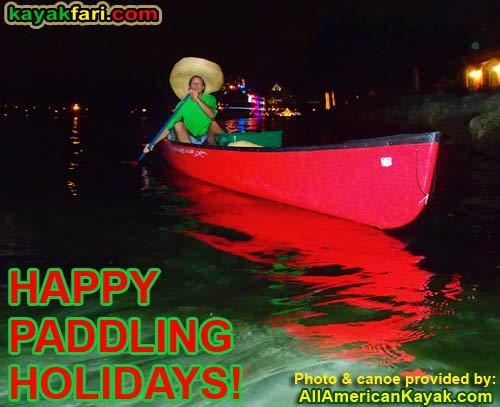kayakfari christmas lights holiday Photography kayak canoe parade ft lauderdale Flex Maslan