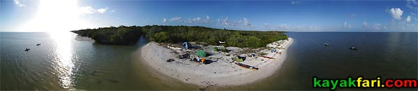 Flex Maslan East Cape aerial beach camp kayakfari Everglades Canoe raulerson prairie trail spoonbill pass photography kayak
