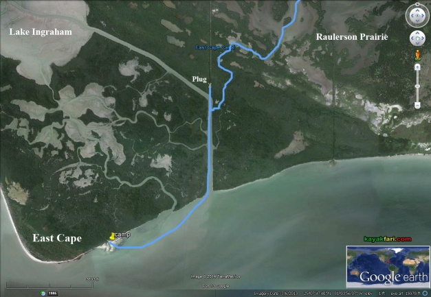 Flex Maslan East Cape satellite kayakfari Everglades Canoe raulerson prairie trail spoonbill pass photography kayak