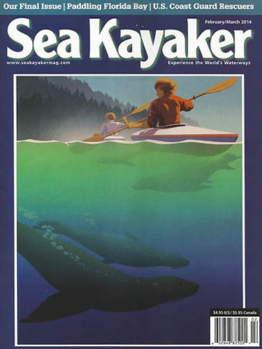 seakayakermag.com sea kayaker kayakfari last issue flex maslan magazine Feb 2014 florida bay