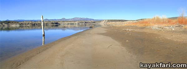 2014 c. Flex Maslan Winter Cochiti Lake kayakfari paddling kayak photography New Mexico snow ice breaker Santa Fe high altitude desert art Rio Grande panorama