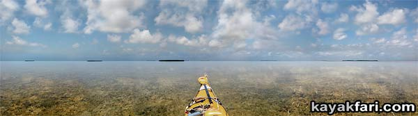 kayakfari photography art Florida Bay aerial kayak Everglades Flex Maslan landscape panoramic print sea Islands in the Sky