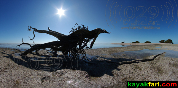 kayakfari photography art Florida Bay aerial kayak Everglades Flex Maslan landscape panoramic print sea The Flats Monster