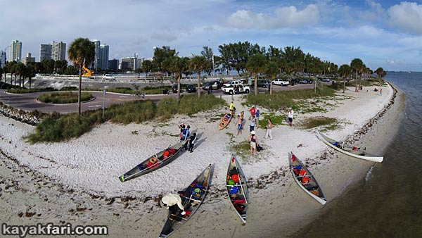 Miami River kayakfari Okeechobee Everglades Flex Maslan canoe expedition paddle River of Grass 2014 kayak biscayne aerial